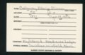 Highland Cemetery interment cards C - 3