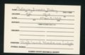 Highland Cemetery interment cards C - 7