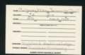Highland Cemetery interment cards C - 11