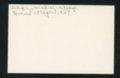 Highland Cemetery interment cards D - 2