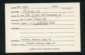 Highland Cemetery interment cards E