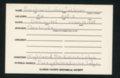 Highland Cemetery interment cards E - 9