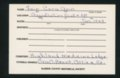 Highland Cemetery interment cards F - 9