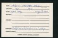 Highland Cemetery interment cards G - 9