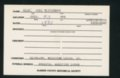 Highland Cemetery interment cards H