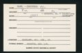 Highland Cemetery interment cards H - 3