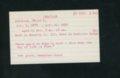 Highland Cemetery interment cards I - 3