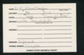 Highland Cemetery interment cards I - 5