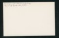 Highland Cemetery interment cards I - 6