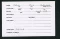 Highland Cemetery interment cards J