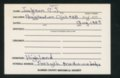 Highland Cemetery interment cards J - 5