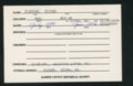 Highland Cemetery interment cards J - 11