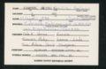 Highland Cemetery interment cards K - 5