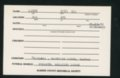 Highland Cemetery interment cards L