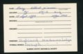 Highland Cemetery interment cards L - 3