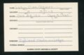 Highland Cemetery interment cards L - 7