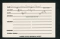 Highland Cemetery interment cards M - 5