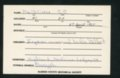 Highland Cemetery interment cards M - 9
