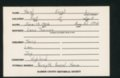 Highland Cemetery interment cards N - 5