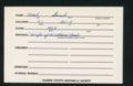 Highland Cemetery interment cards N - 11