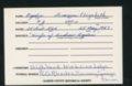 Highland Cemetery interment cards O - 7