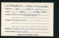 Highland Cemetery interment cards P