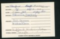 Highland Cemetery interment cards P - 7