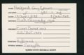 Highland Cemetery interment cards P - 11