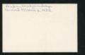Highland Cemetery interment cards Q - 2