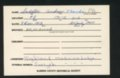 Highland Cemetery interment cards S