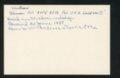 Highland Cemetery interment cards S - 6