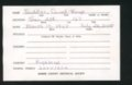 Highland Cemetery interment cards S - 9