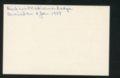 Highland Cemetery interment cards S - 12