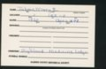 Highland Cemetery interment cards T - 6