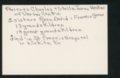 Highland Cemetery interment cards V - 2