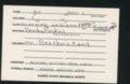 Highland Cemetery interment cards V - 3