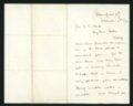 Correspondence between Charles Knox and Rev Clark