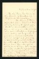 Dr. Robert Cruikshank letter
