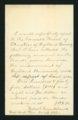 Endowment note from Robert Cruikshank
