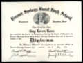 Bonner Springs District Four Diploma