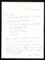 Female Aviator Janie Oesch autograph and letter