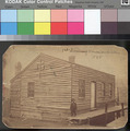 First house in Leavenworth, Kansas Territory