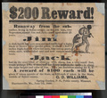 $200 Reward! for runaway slaves