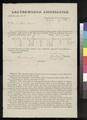 Certificate for town lots, Leavenworth, Kansas Territory