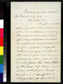 Lyman Trumbull to M. W. Delahay - p. 1