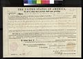 Pre-emption certificate issued to Jack H. Martin for land in Atchison County