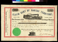 Claim Debt of Kansas Territory