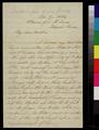 Thomas C. Wells to Sarah Elizabeth Clarke Wells