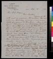 Samuel L. Adair to S. S. Jocelyn - p. 1