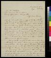 Samuel L. Adair to Mrs. H. L. Hibbard - p. 1